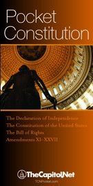 Pocket Constitution: The Declaration of Independence, Constitution and Amendments