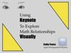 Cathy Yenca - Using Keynote To Explore Math Relationships Visually artwork