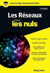 Les Réseaux pour les Nuls version poche 10e ed La couverture du livre martien