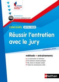 Réussir l'entretien avec le jury - catégorie A, B et C - Intégrer la fonction publique - 2019/2020
