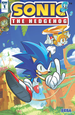 Sonic the Hedgehog #1 - Ian Flynn & Tracy Yardley book