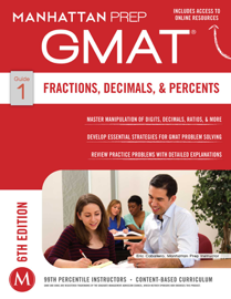 GMAT Fractions, Decimals, & Percents book