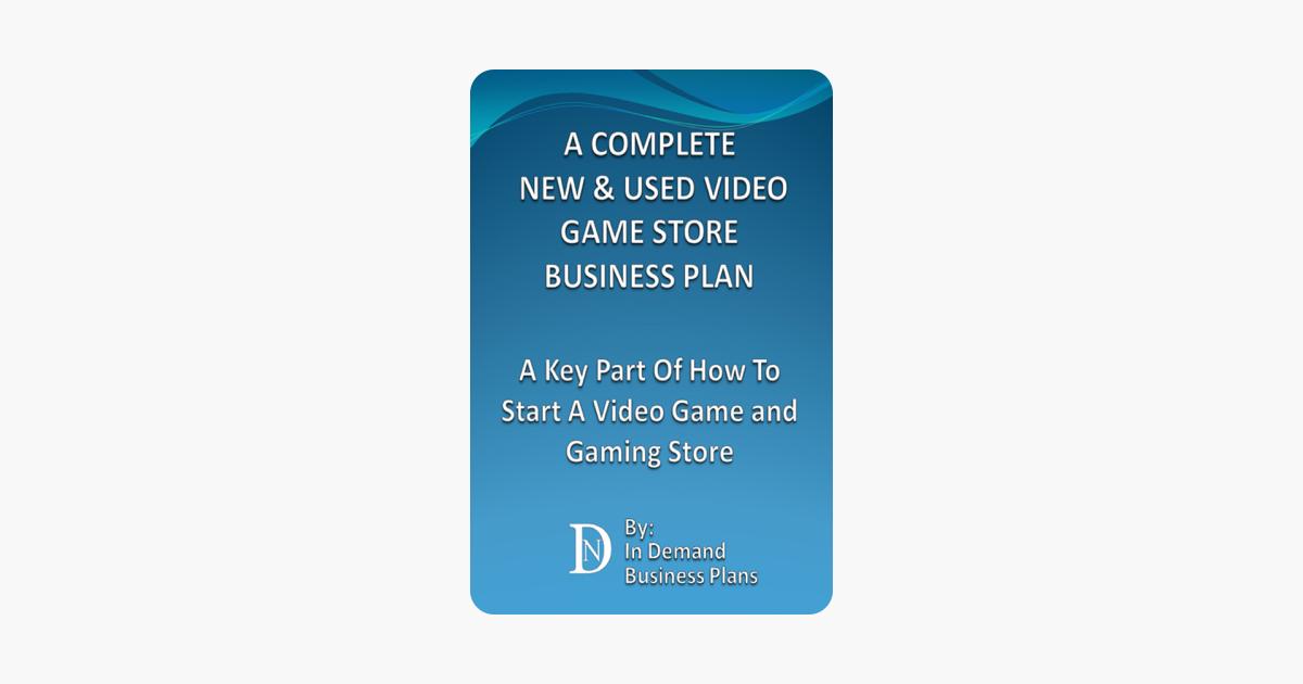 computer gaming center business plan pdf