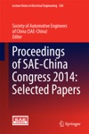 Proceedings Of SAE-China Congress 2014 Selected Papers