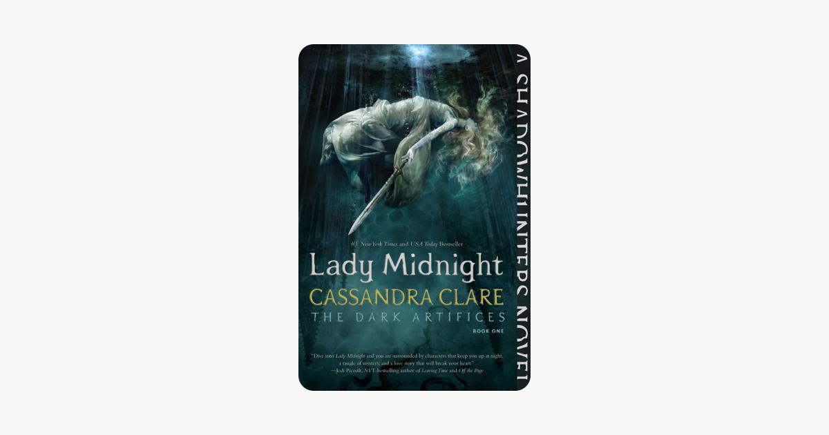 Midnight book lady