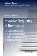 Negative Frequency At The Horizon