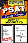PSAT Test Prep Geometry Review--Exambusters Flash Cards--Workbook 6 Of 6