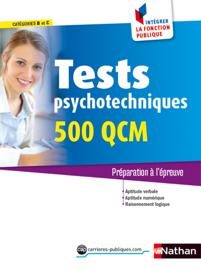 Tests psychotechniques - 500 QCM - catégorie B et C - 2015