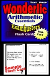 Wonderlic Test Prep Arithmetic Review--Exambusters Flash Cards--Workbook 2 Of 3
