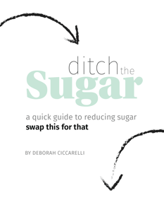 Ditch the Sugar Book Review