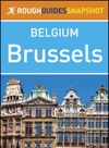 Brussels Rough Guides Snapshot Belgium