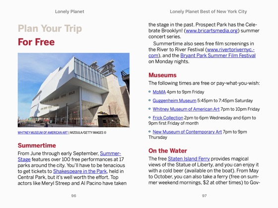 ‎Lonely Planet's Best of New York City Travel Guide