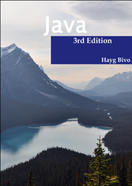 Java, 3rd ed. book