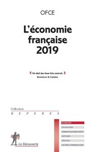 L'économie française 2019 La couverture du livre martien
