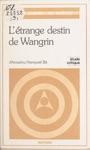 Ltrange Destin De Wangrin DAmadou Hampat B