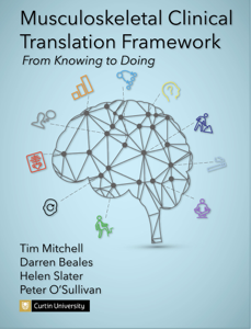 Musculoskeletal Clinical Translation Framework: From Knowing to Doing Copertina del libro