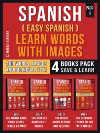 Spanish Easy Spanish Learn Words With Images Pack 1
