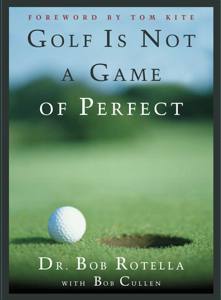 Golf is Not a Game of Perfect Libro Cover