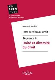 Introduction Au Droit S Quence 8 Unit Et Diversit Du Droit