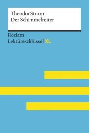 DER SCHIMMELREITER VON THEODOR STORM (RECLAM LEKTüRESCHLüSSEL XL)