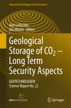 Geological Storage of CO2 – Long Term Security Aspects