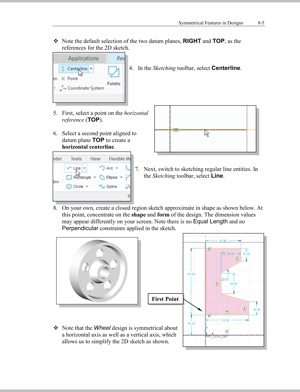‎Parametric Modeling with Creo Parametric 5 0