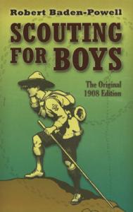 Scouting for Boys La couverture du livre martien