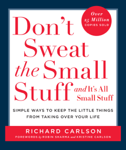 Don't Sweat the Small Stuff and It's All Small Stuff Boekomslag