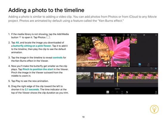 iMovie for iPad Starter Guide iOS 11 on Apple Books