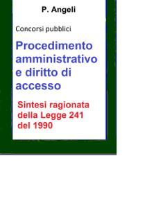 Procedimento amministrativo e diritto di accesso Libro Cover