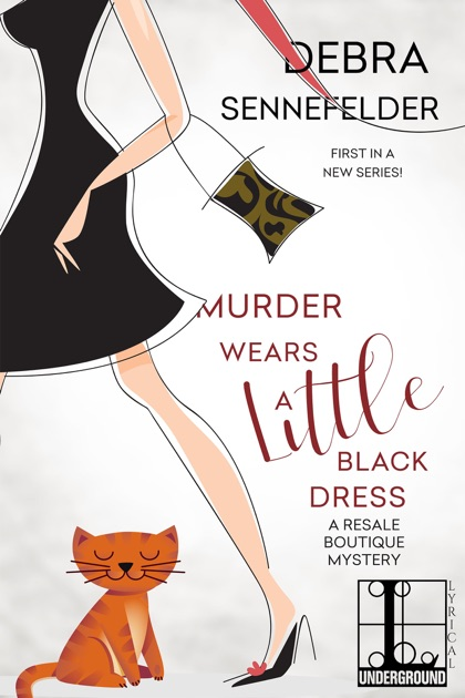 Apple Books Murder Wears A Little Black Dress
