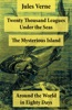 Twenty Thousand Leagues Under The Seas + Around The World In Eighty Days + The Mysterious Island