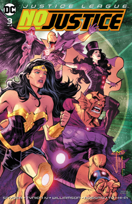Justice League: No Justice (2018-) #3 - James Tynion IV, Joshua Williamson, Scott Snyder, Riley Rossmo & Marcus To book