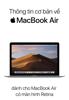 Apple Inc. - Thông tin cơ bản về MacBook Air artwork