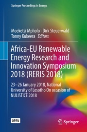 Africa Eu Renewable Energy Research And Innovation Symposium 2018 Reris 2018