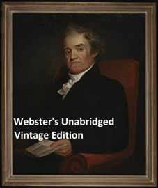 Webster's Unabridged Vintage Edition