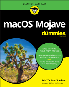 macOS Mojave For Dummies Libro Cover