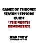 Jean Snow - Games of thrones season 1 Episode Guide (The North remembers) ilustración