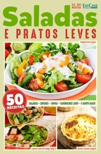 Cia das Receitas Ed. 10 - Saladas e Pratos Leves Book Cover