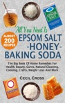 All You Need Is Epsom Salt Honey And Baking Soda