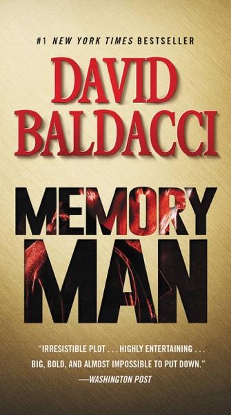 Memory Man - David Baldacci book cover