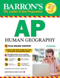 Barron's AP Human Geography With Bonus Online Tests book