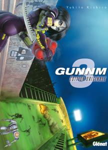Gunnm - Édition originale - Tome 03 La couverture du livre martien
