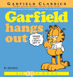 Garfield Hangs Out book