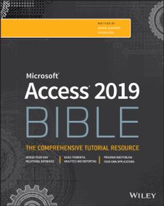 Access 2019 Bible Copertina del libro