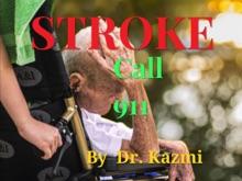Stroke Call 911