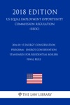 2016-01-15 Energy Conservation Program - Energy Conservation Standards For Residential Boilers - Final Rule US Energy Efficiency And Renewable Energy Office Regulation EERE 2018 Edition