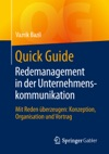 Quick Guide Redemanagement In Der Unternehmenskommunikation
