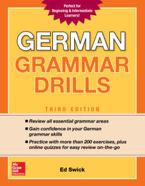 German Grammar Drills, Third Edition