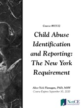 Child Abuse Identification And Reporting: The New York Requirement